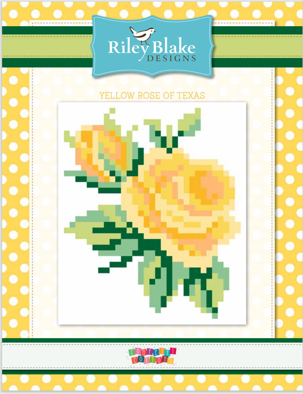 FREE Pattern -Yellow Rose