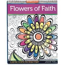 Zenspirations Flowers Coloring book