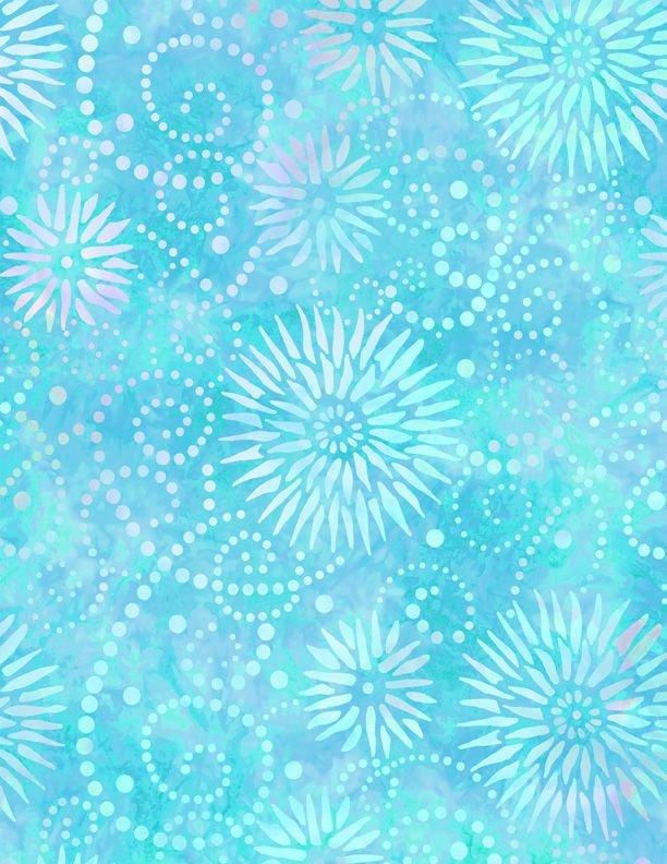 Essentials 108 Flower Burst Blue