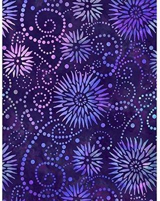 Essentials 108 Flower Burst Purple