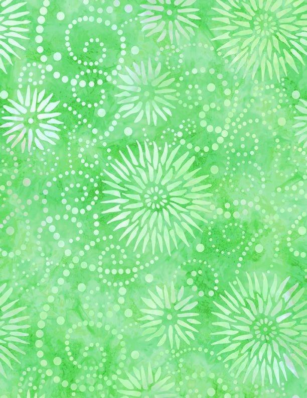 Essentials 108 Flower Burst Lime