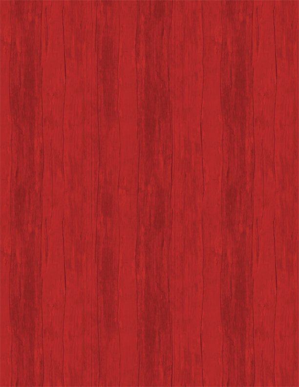 7th Inning Stretch Wood Texture Red
