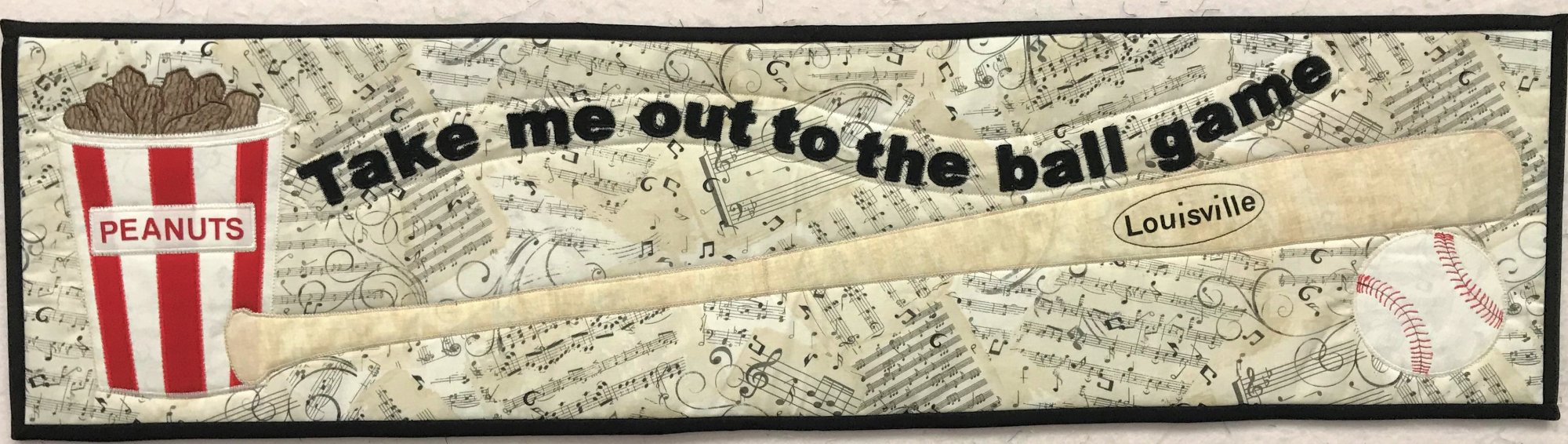 2018 Row by Row - Take Me Out to the Ball Game Kit