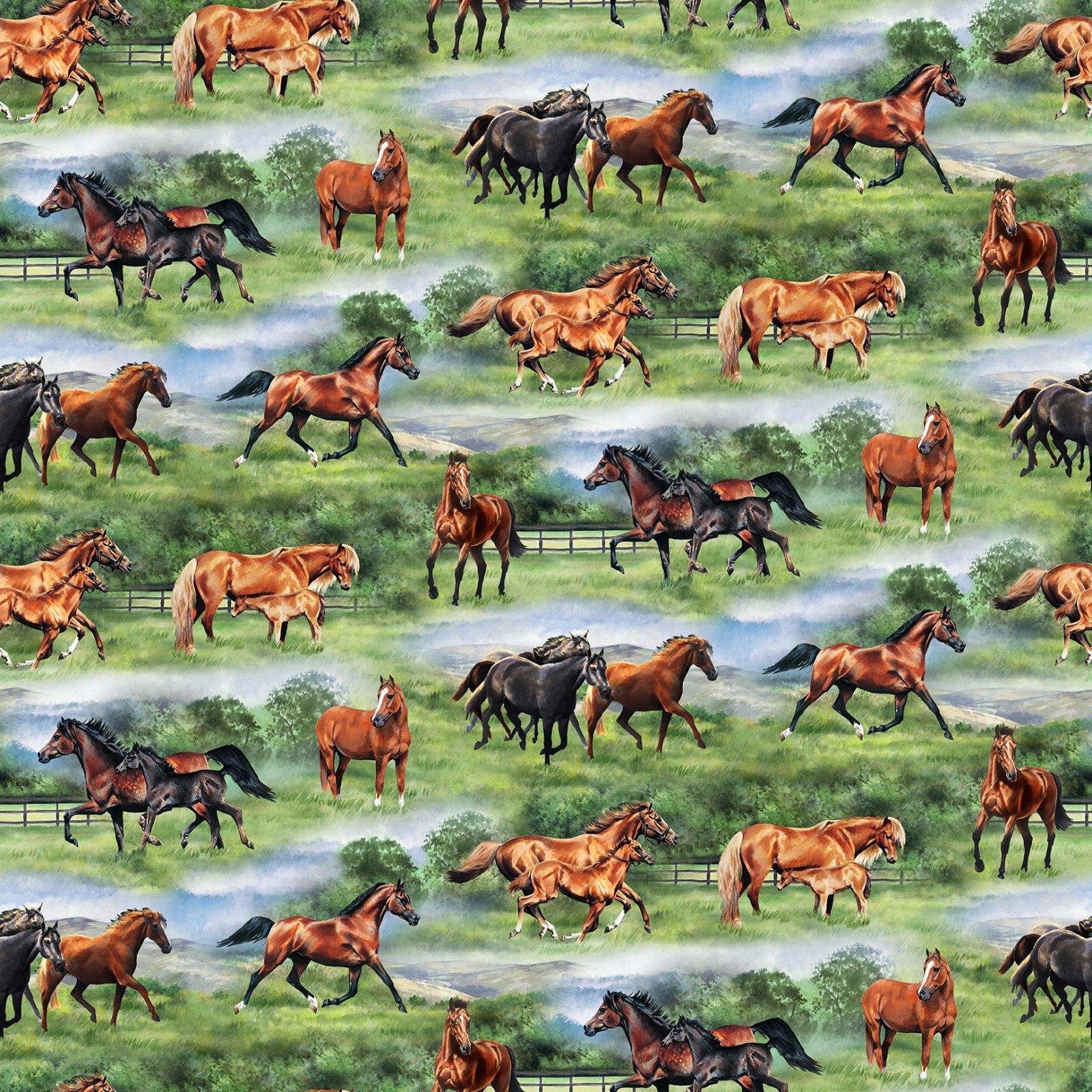 Pleasant Pastures Horses in Pasture