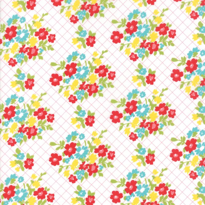 Momma's Cottage Tablecloth Guava