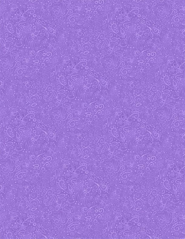 Live Out Loud Doodles Med. Purple