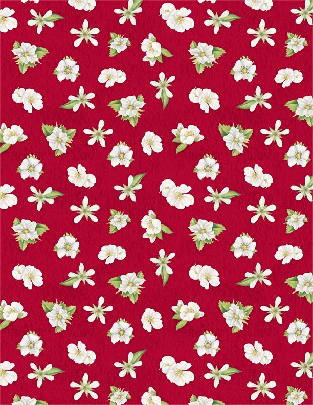 Berry Sweet Floral Red
