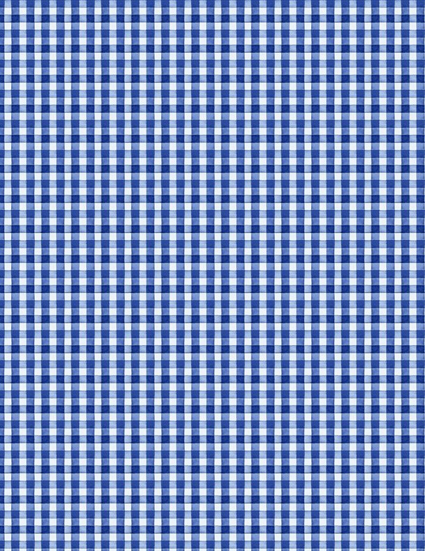 Berry Sweet Gingham Blue