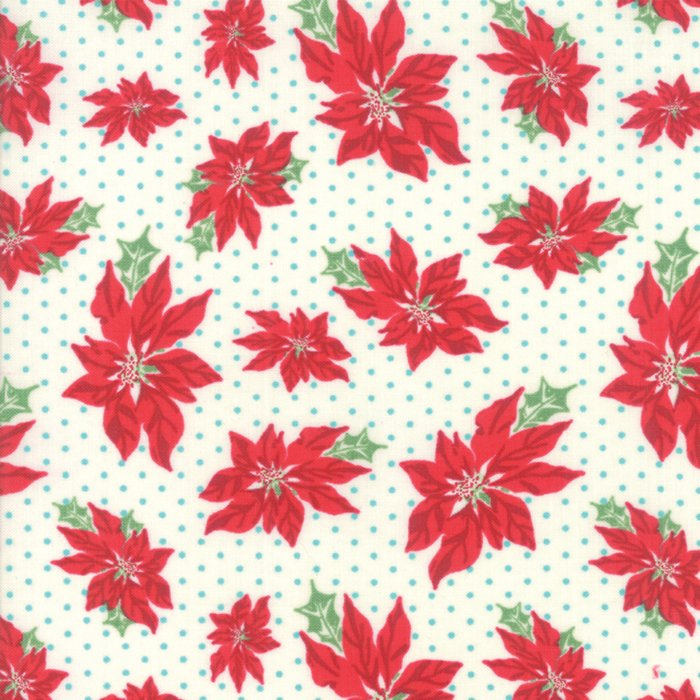 Sweet Christmas Poinsettia Natural