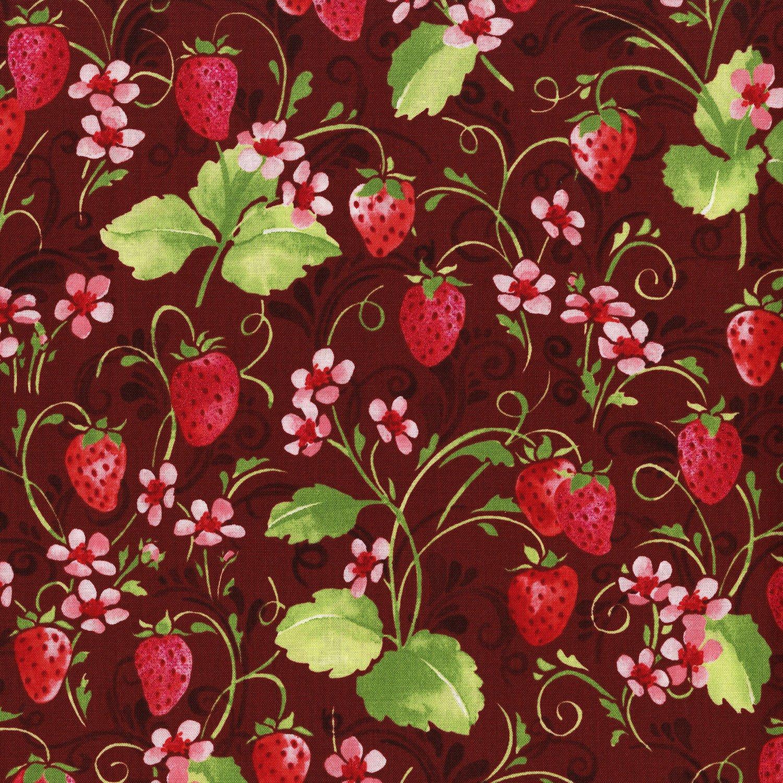 Sugar Berry  Strawberry Pie Radiant Crimson