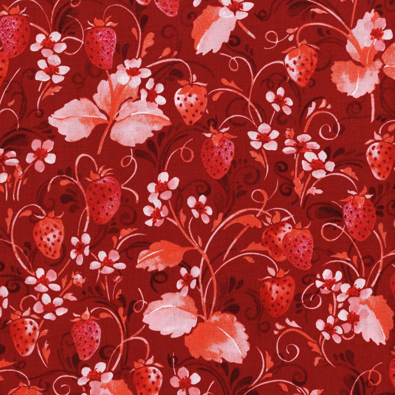 Sugar Berry  Strawberry Pie Radiant Scarlet