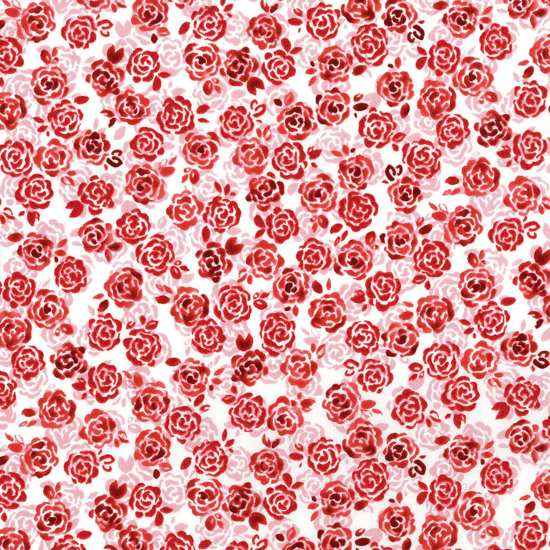 Sugar Berry Playful Posies Radiant Cherry