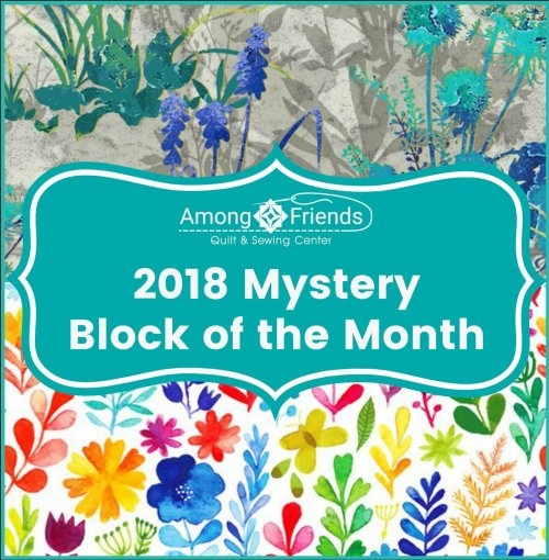 2018 Mystery Block Of The Month Club At Among Friends