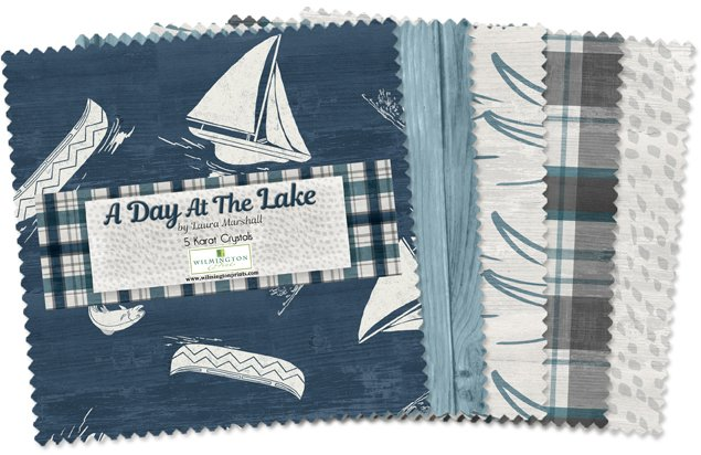 A Day at the Lake Charm Pack