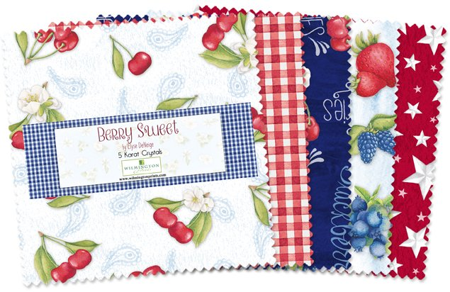 Berry Sweet 5 Squares
