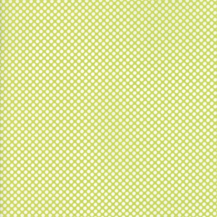 Vintage Holiday Dots Green