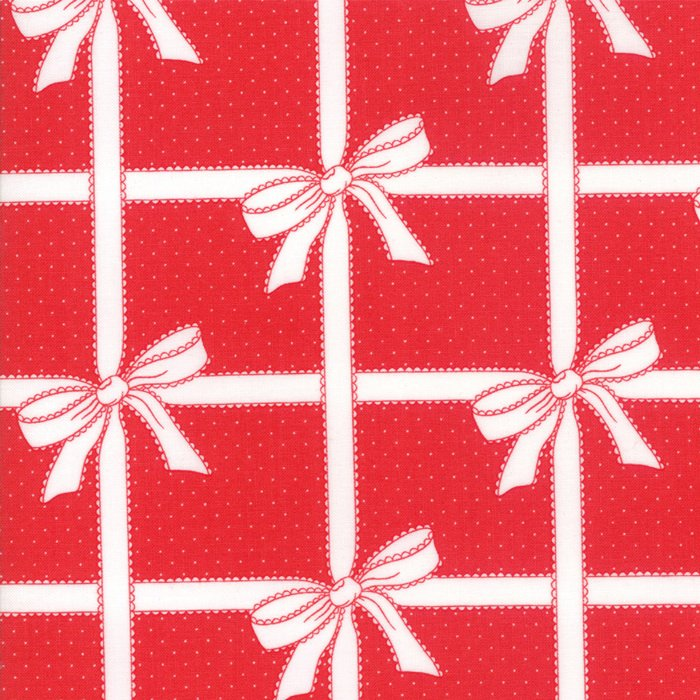 Vintage Holiday Wrapped Up Red