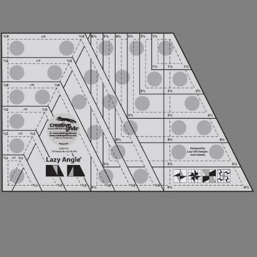 Creative Grids Lazy Angle Ruler