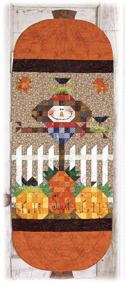 Fall Sweet Fall Scarecrow Runner pattern