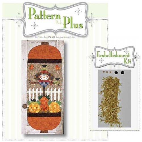 Fall Sweet Fall Scarecrow Runner Pattern Pak Plus