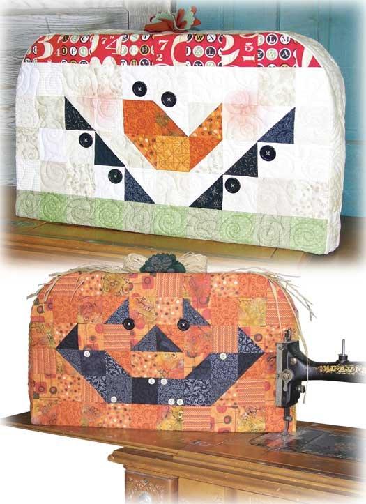 Sewing Machine Cozy Jack/Snowman Pattern