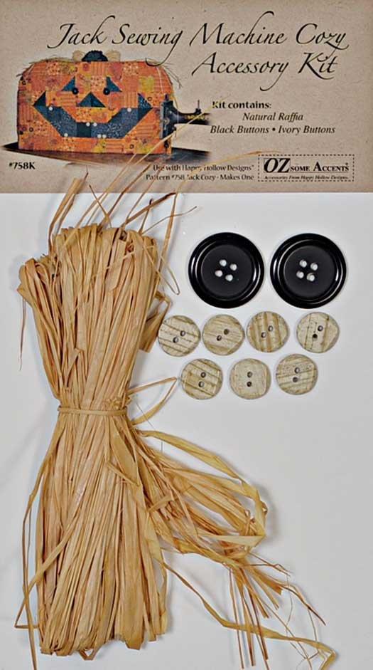 Jack Sewing Machine Cozy  Accessory Kit