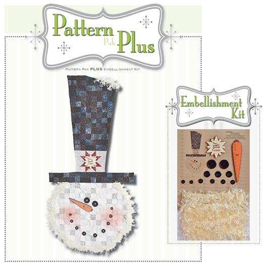 Blizzard Snowman Pattern Pak Plus