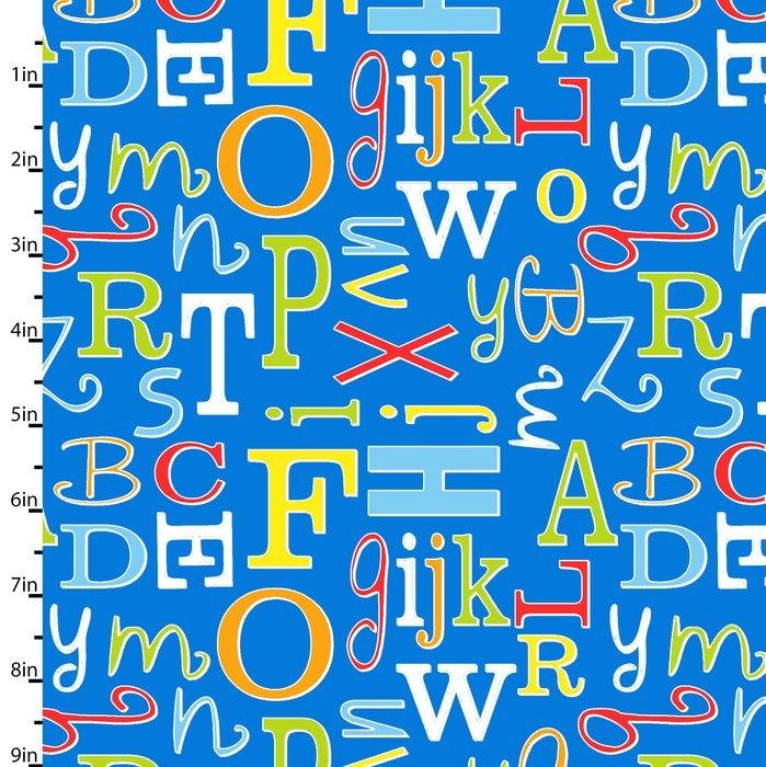 ABC Safari Letter Toss Blue