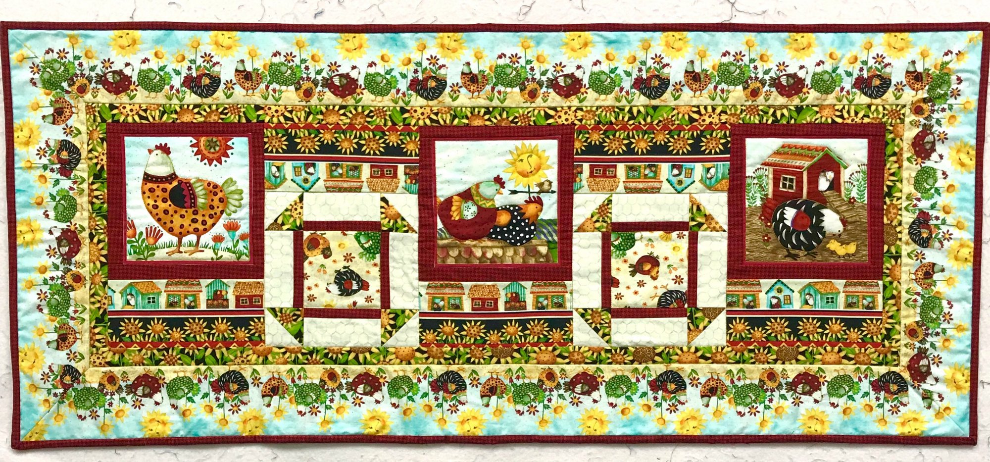 All Cooped Up Table Runner Kit
