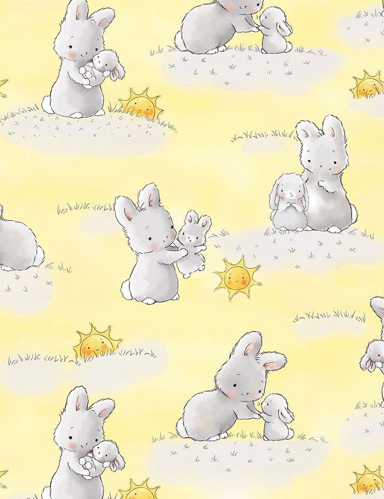 Little Star Bunnies with Suns