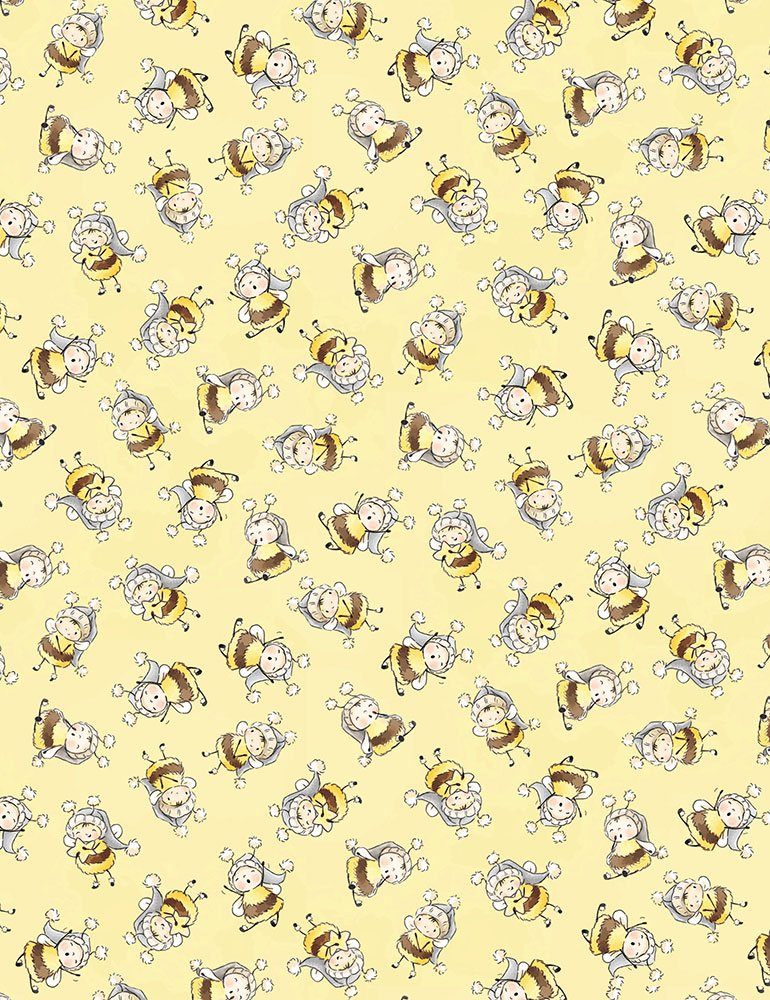Little Star Bunny Bees Yellow