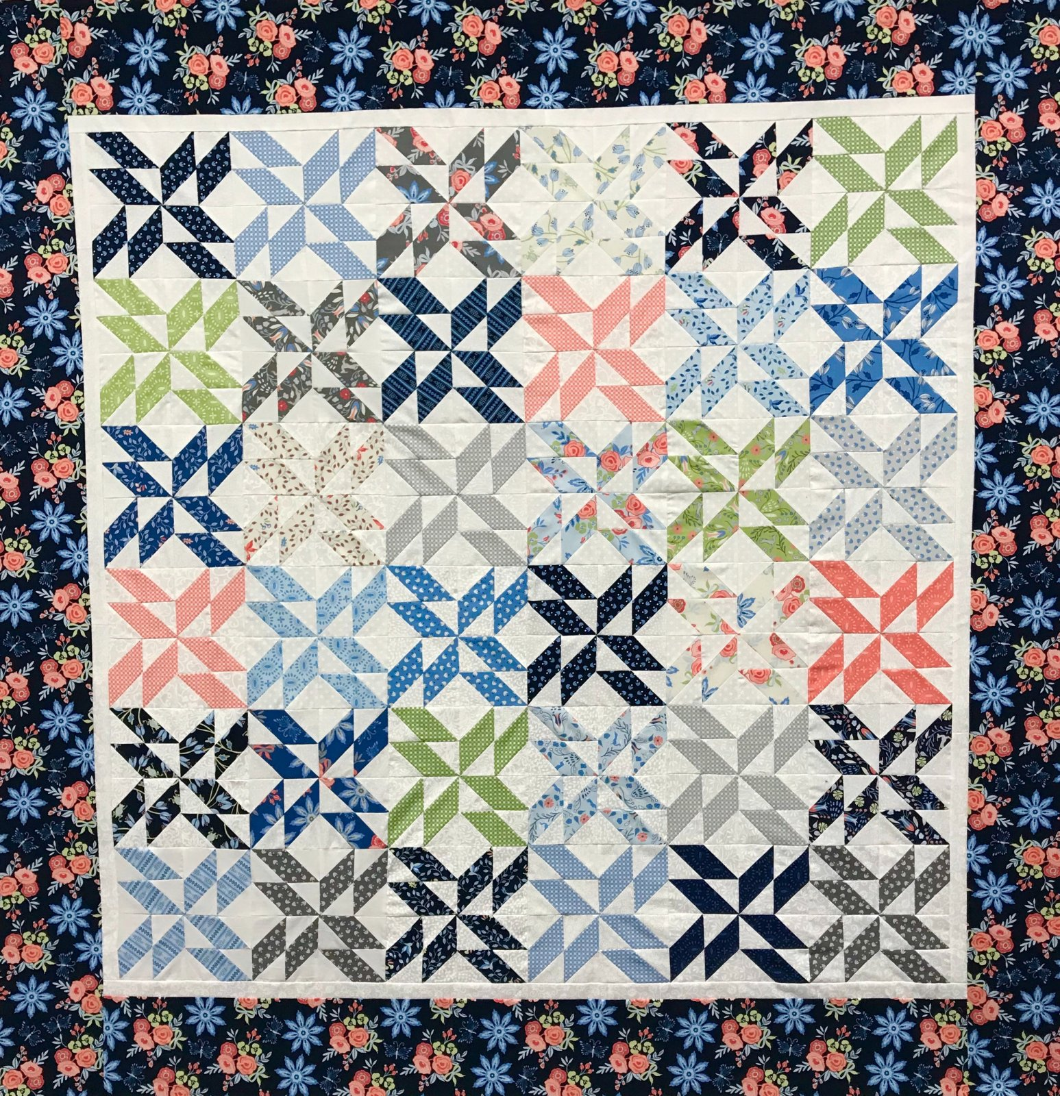 Buttoned Up Quilt Kit
