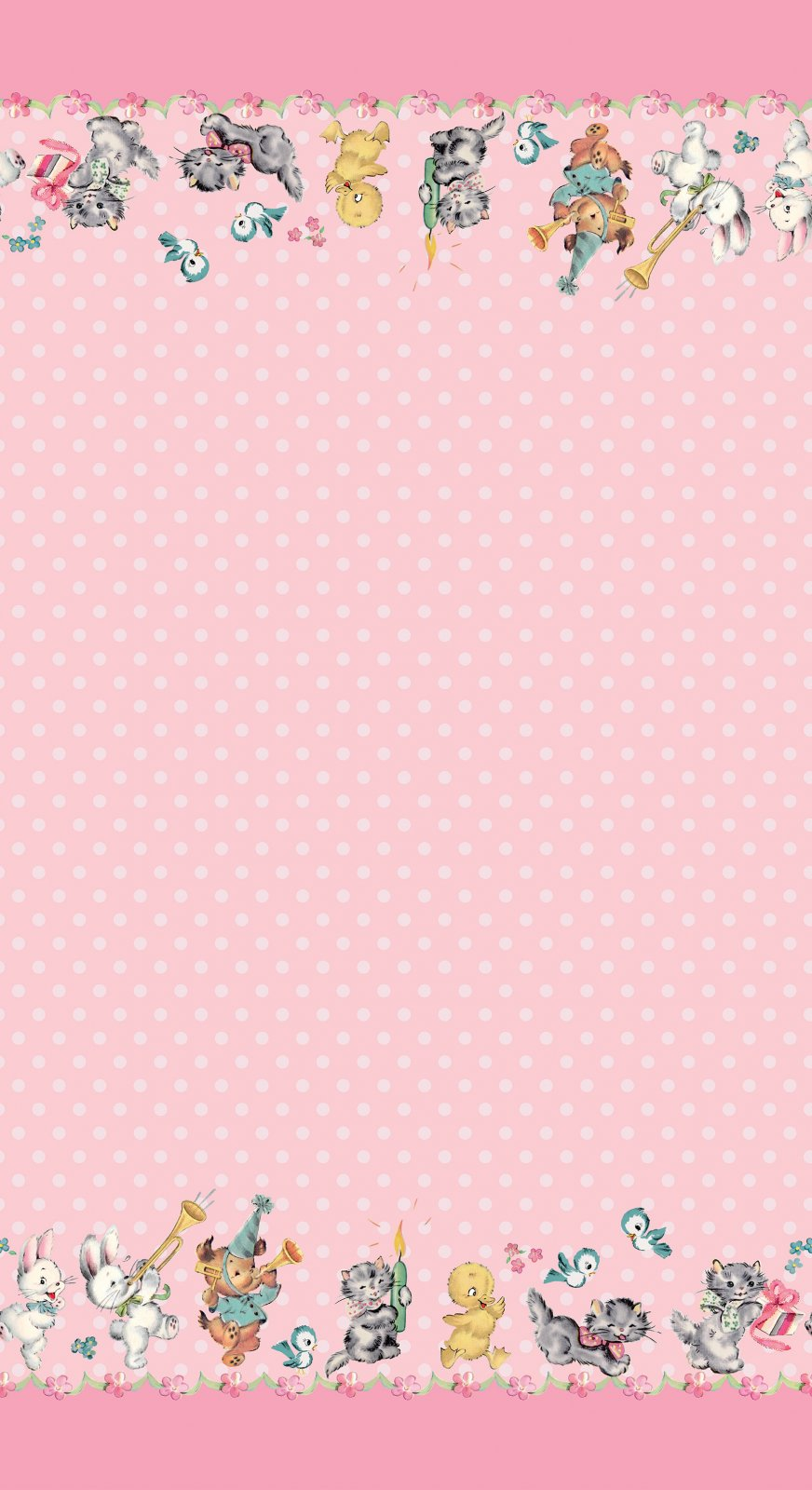 Perfect Party Border Pink