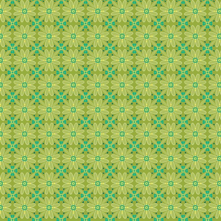 Wildflower Boutique Mosaic Green