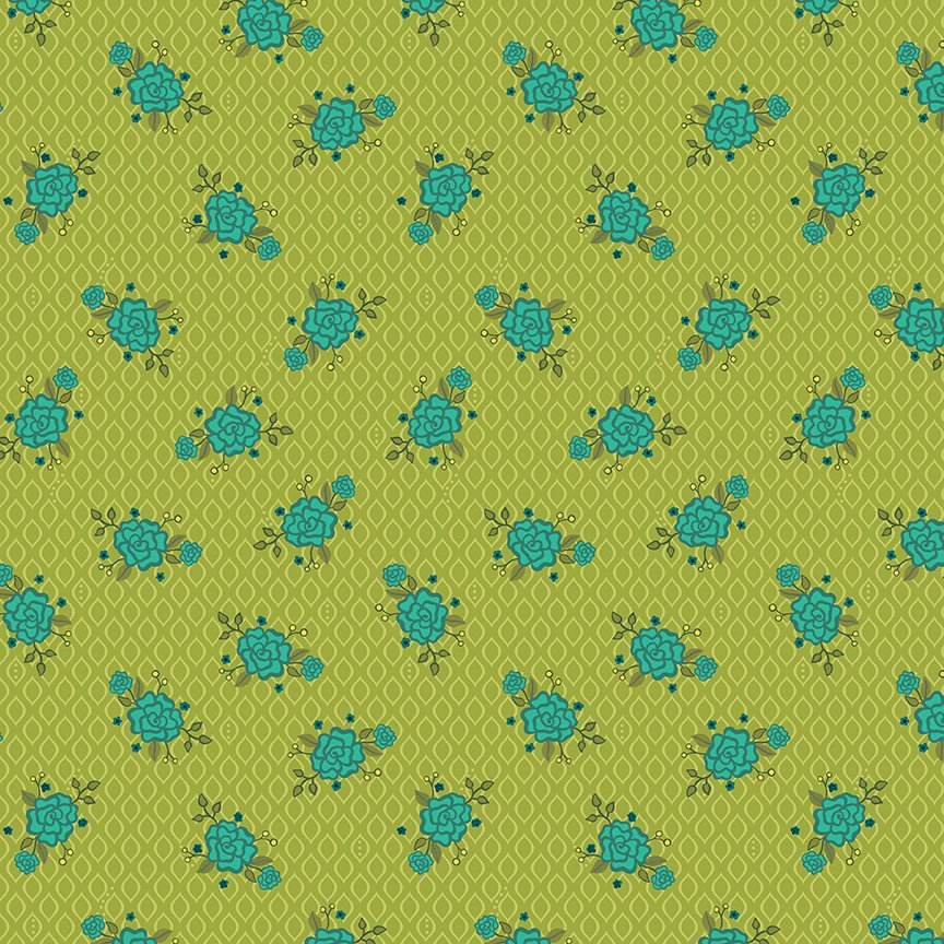 Wildflower Boutique Floral Green