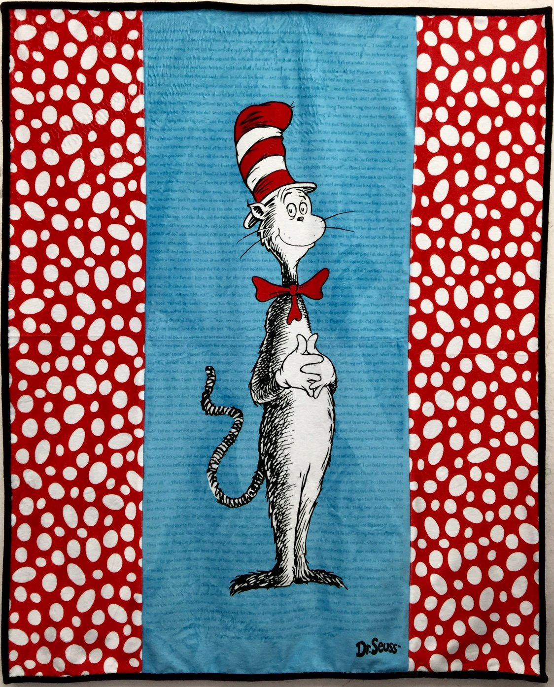 The Cat in the Hat Cuddle Quilt Kit