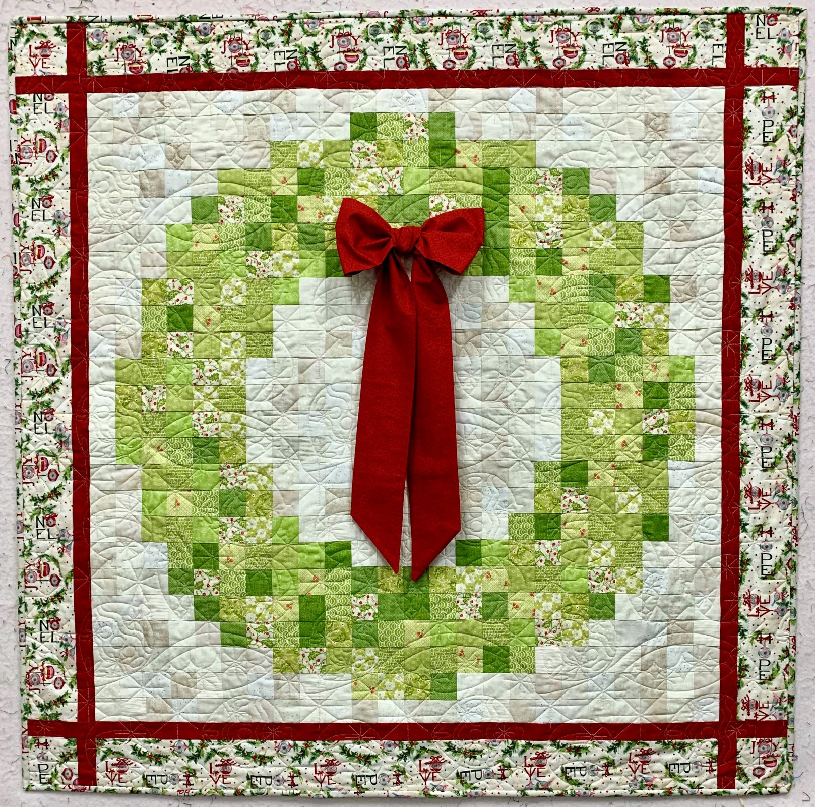 Christmas Welcome Quilt Kit