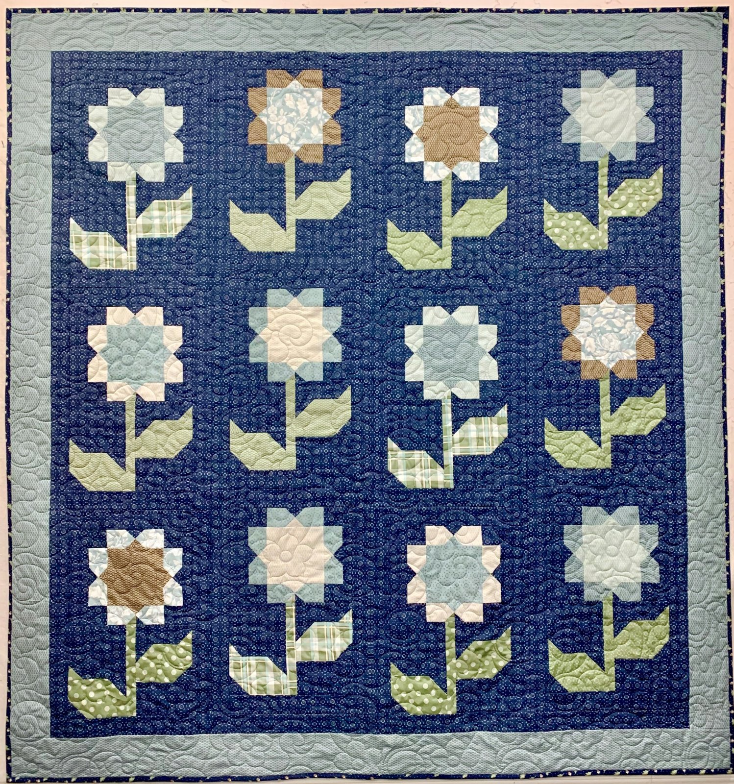 Cottage Blossoms Quilt Kit