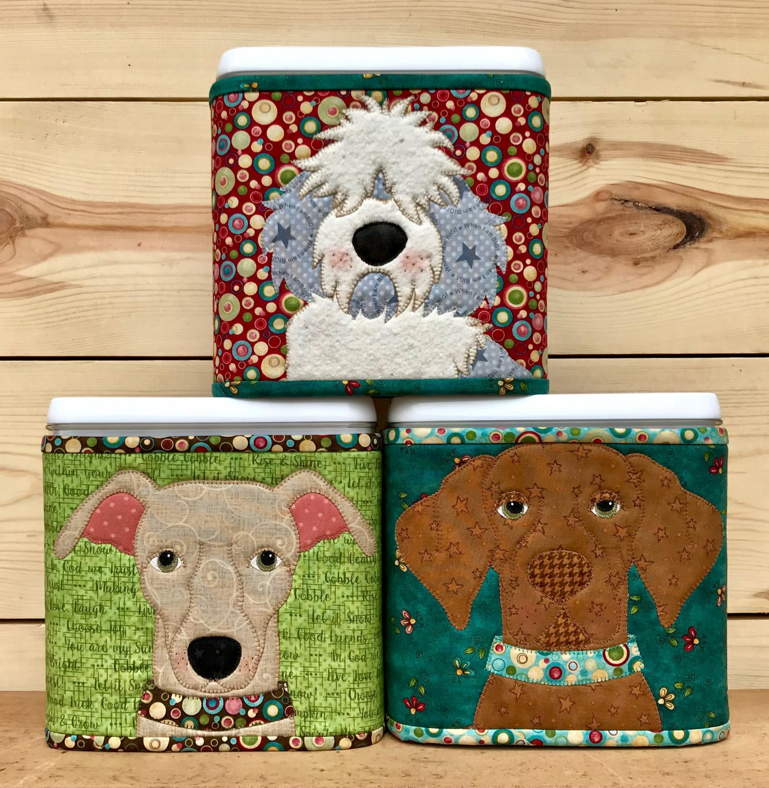 Doggy Treat Canister Covers