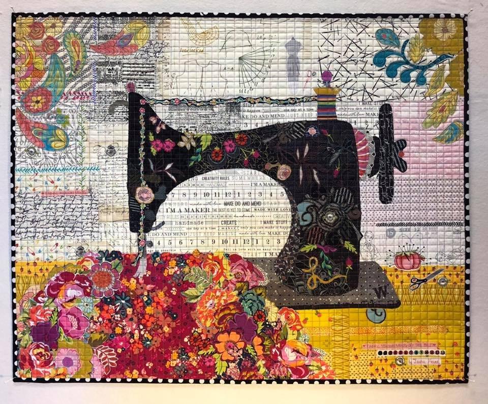 Featherweight Collage Pattern