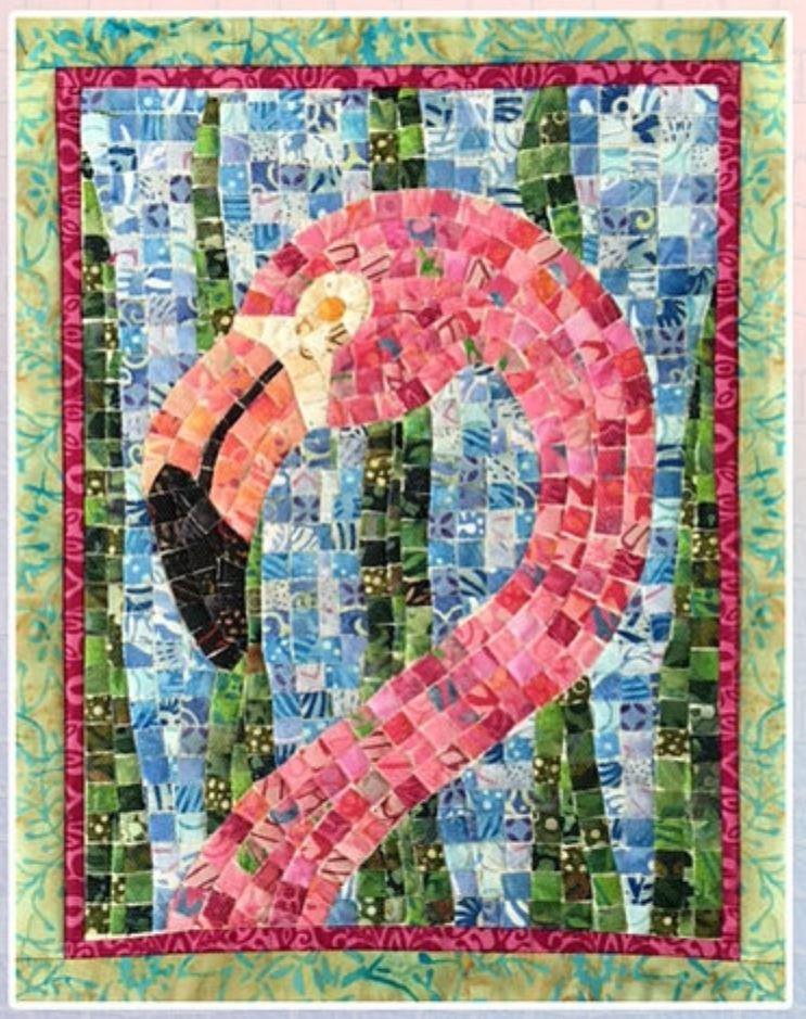Flamingo Mini Mosaic Kit