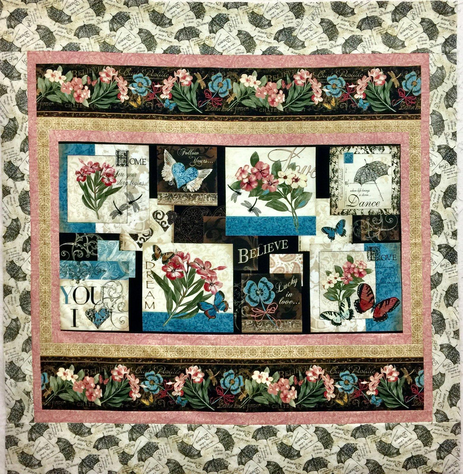 Garden Hideaway Quilt Kit