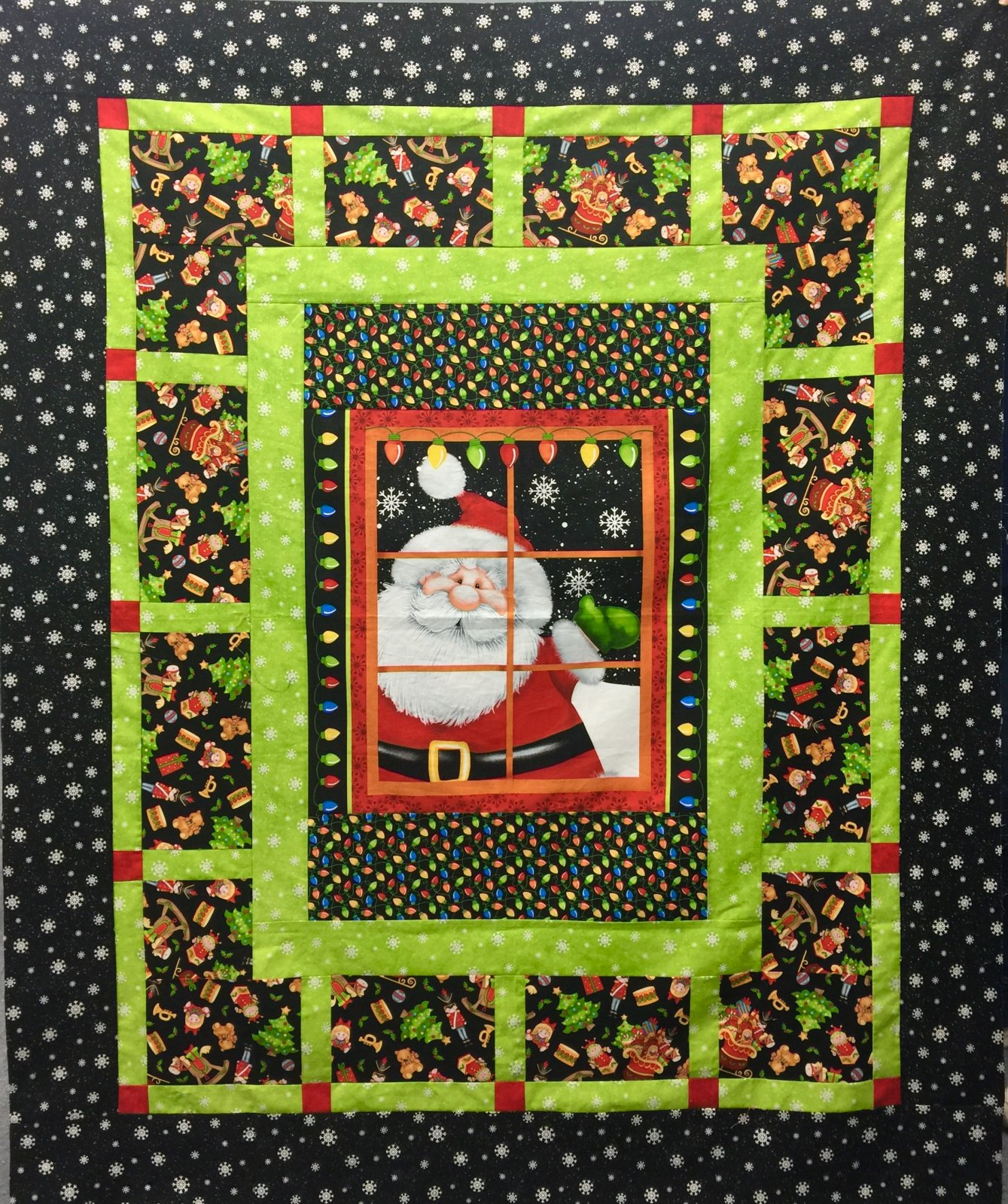 Jolly Ole St. Nick Time Quilt