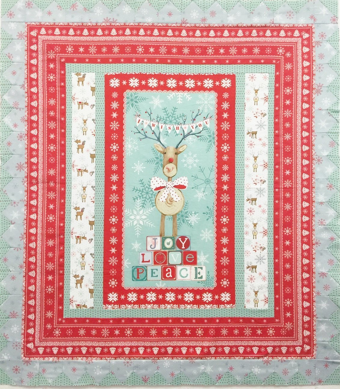 Joy, Love, Peace Quilt Kit