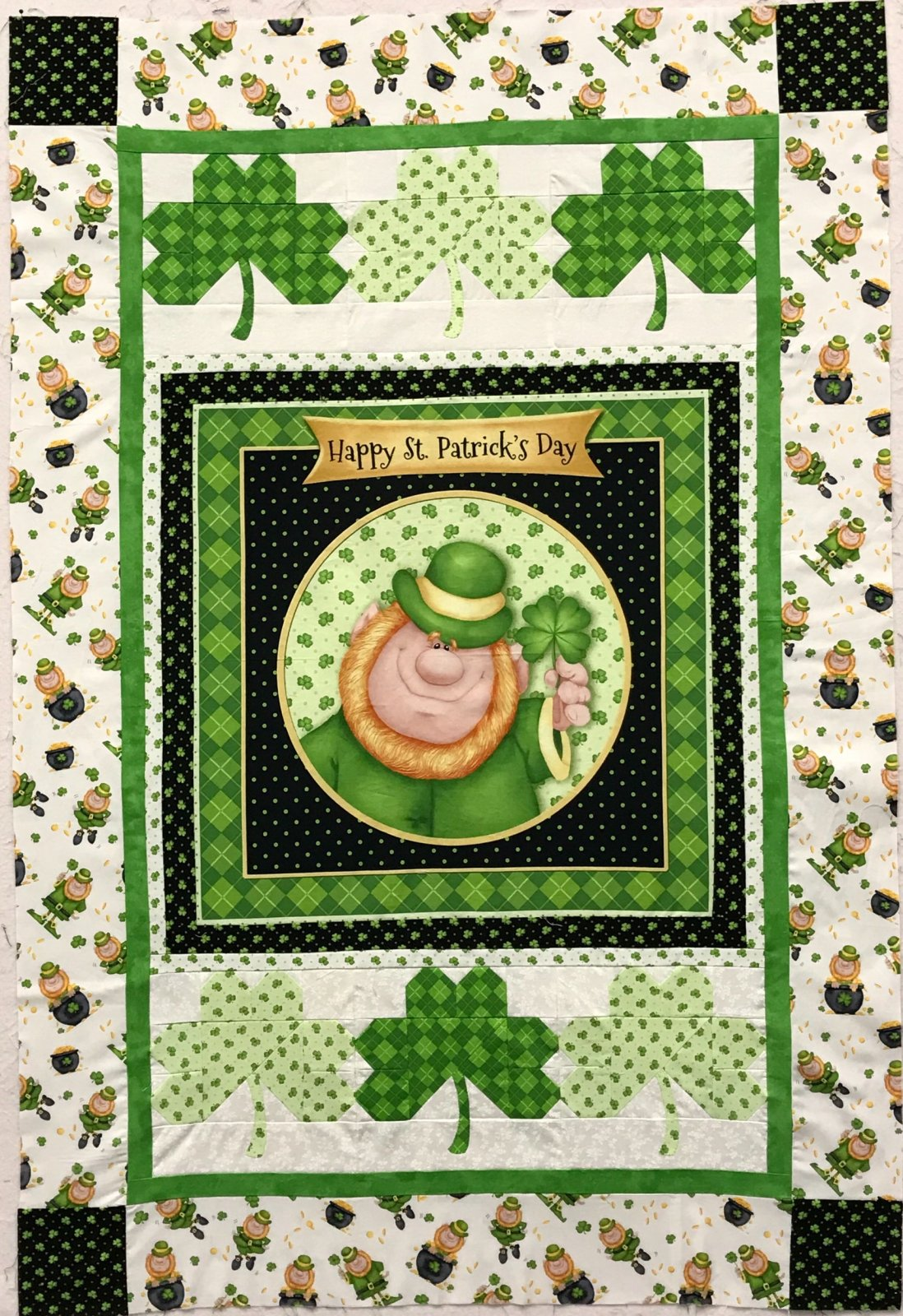 Lucky Me Wall Quilt Kit
