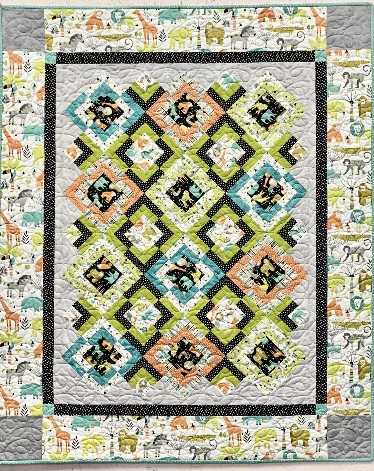 Metro Safari Swank Quilt Kit