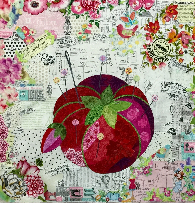 Mini Pincushion Collage Kit