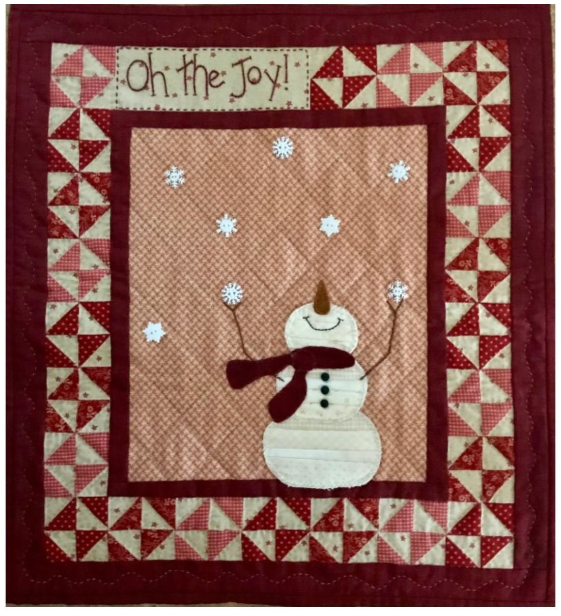 Oh the Joy!- Red Button Quilt Co.
