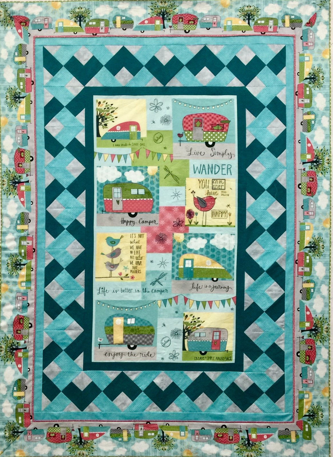 On The Road Again Quilt Kit