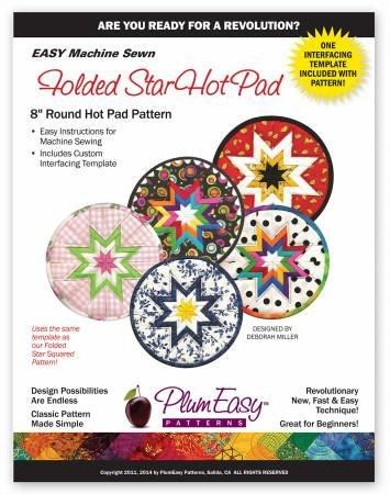 Folded Star Hot Pad Circle